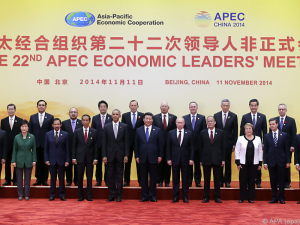 APEC-Gipfel in Peking eršffnet
